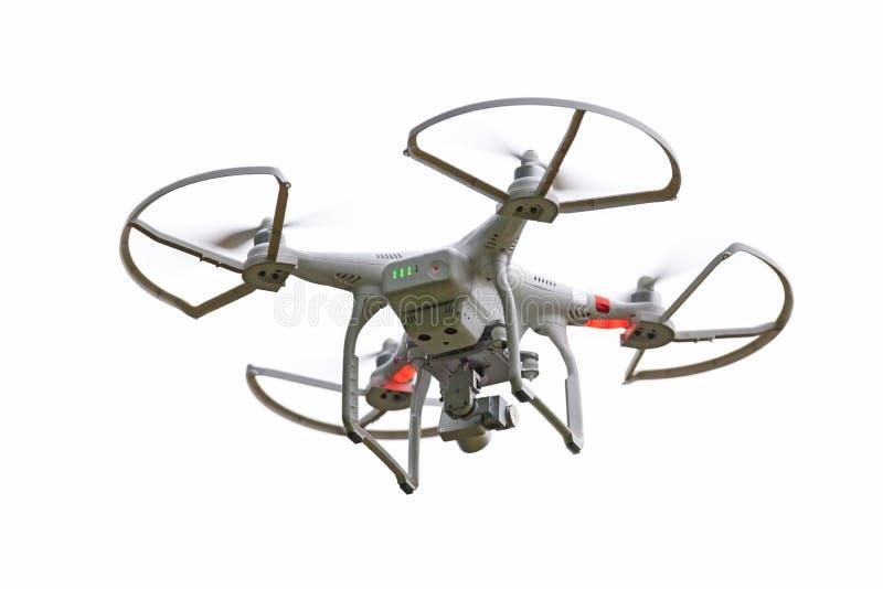 Bourdon de Quadcopter images libres de droits