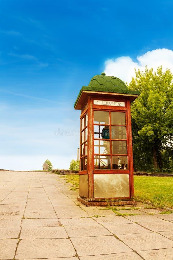 Bourdonnement de téléphone en Lithuanie images libres de droits