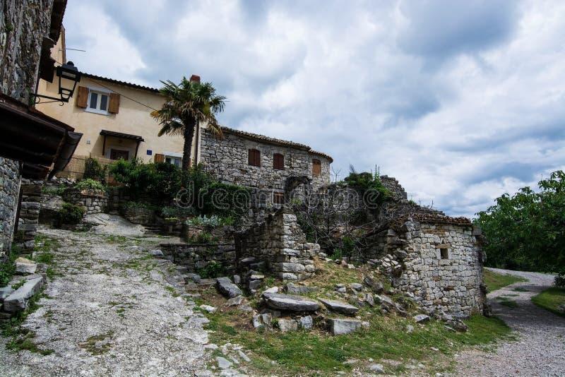 Bourdonnement, Istria, Croatie image stock