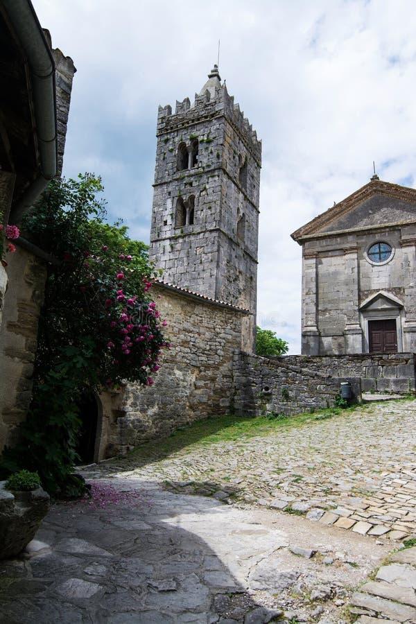 Bourdonnement, Istria, Croatie photo libre de droits