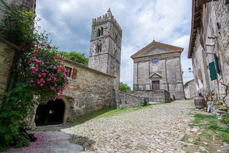 Bourdonnement, Istria, Croatie images libres de droits