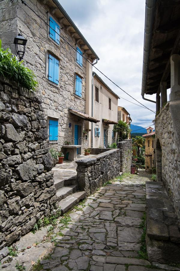 Bourdonnement, Istria, Croatie image stock