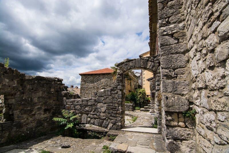 Bourdonnement, Istria, Croatie photographie stock