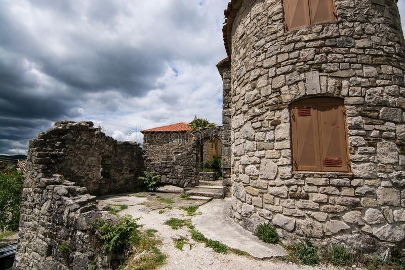 Bourdonnement, Istria, Croatie photographie stock