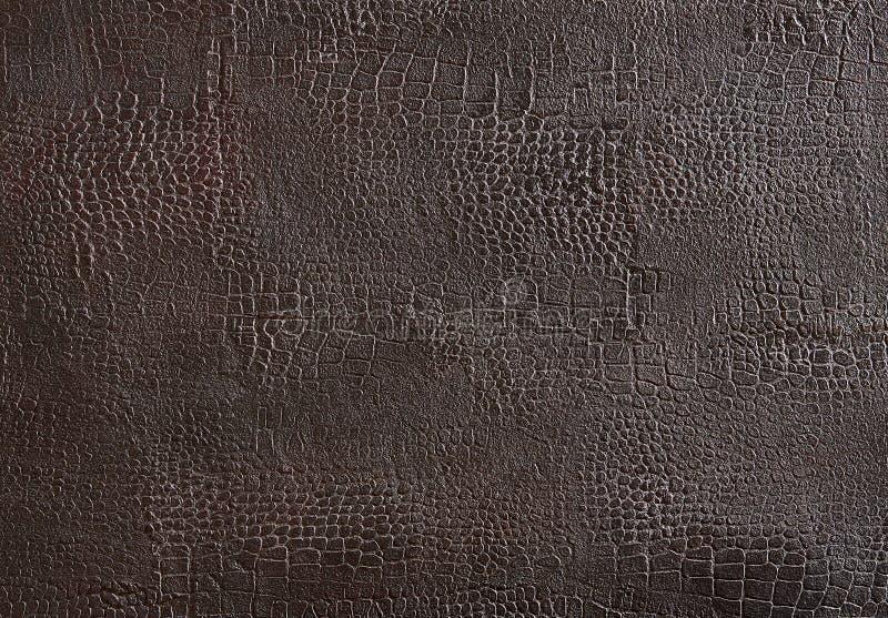 Bourdoux läderbakgrund eller textur, abstrakt modell, närbild, makro arkivbild