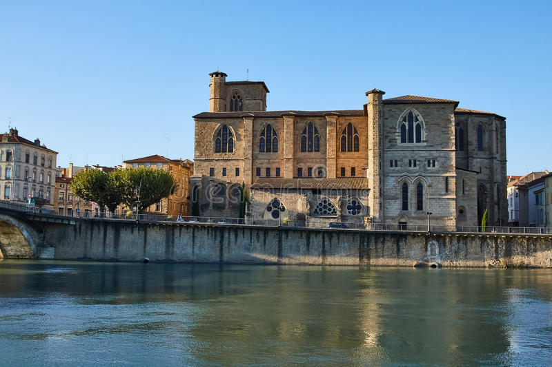 Bourg de Peage, France. Bourg de Peage is a commune in the Drome department and in the Auvergne Rhone Alpes region in southeastern France royalty free stock photo