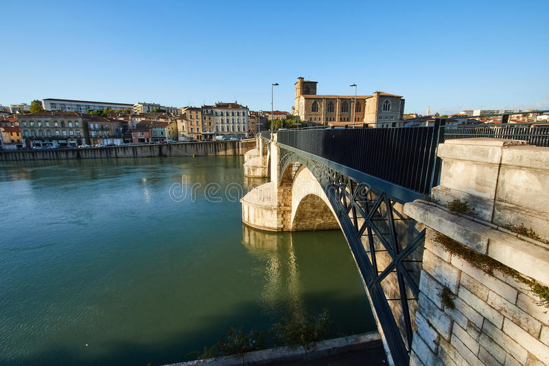 Bourg de Peage, France. Bourg de Peage is a commune in the Drome department and in the Auvergne Rhone Alpes region in southeastern France stock image