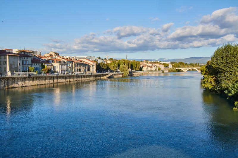 Bourg de Peage, France. Bourg de Peage is a commune in the Drome department and in the Auvergne Rhone Alpes region in southeastern France royalty free stock photos