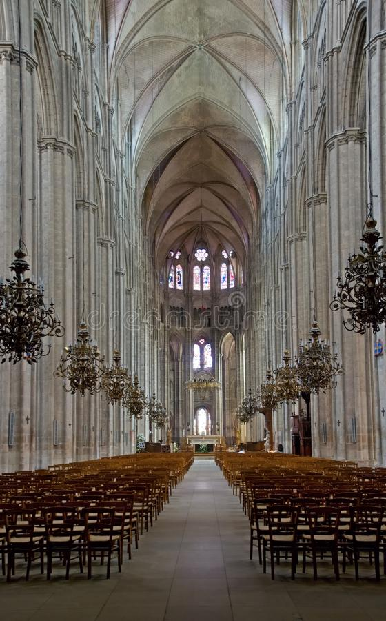 Bourges, France photographie stock libre de droits