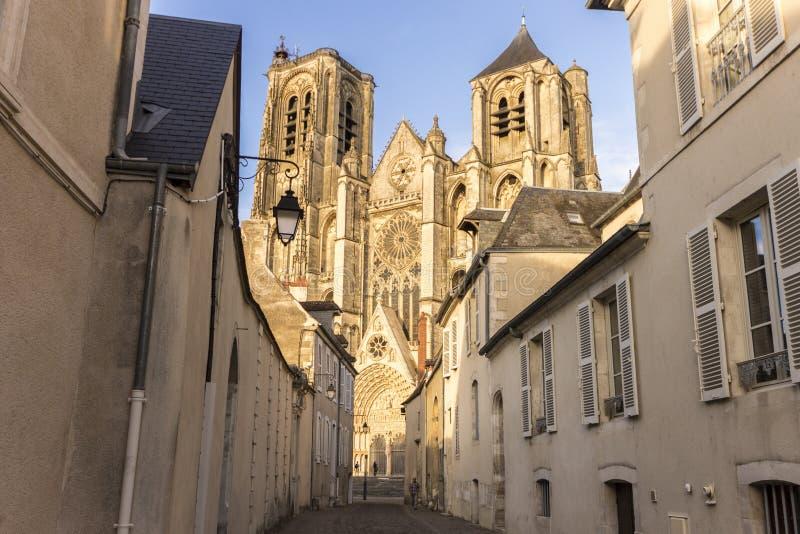 Bourges, Frankreich stockbild