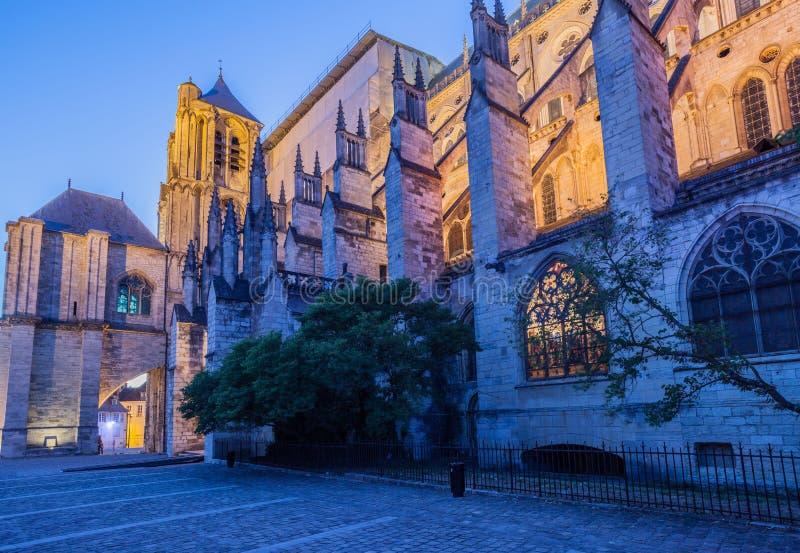 Bourges Frankreich lizenzfreie stockfotografie