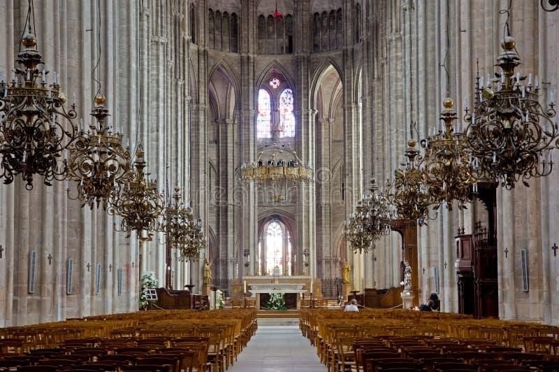Bourges Frankrike arkivbilder