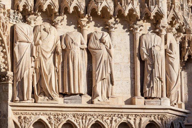 Bourges katedra Francja obraz royalty free