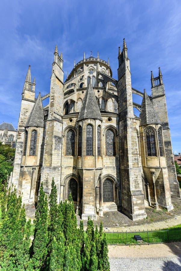 Bourges-Kathedrale - Frankreich stockfotos