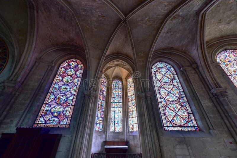Bourges-Kathedrale - Frankreich stockbilder