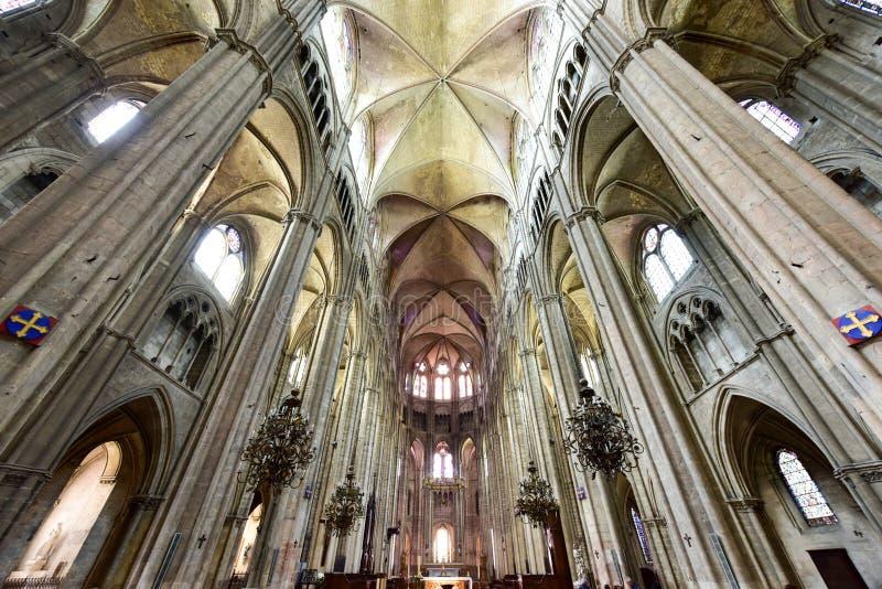 Bourges-Kathedrale - Frankreich lizenzfreie stockfotografie
