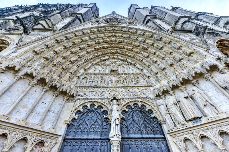 Bourges-Kathedrale - Frankreich lizenzfreies stockfoto