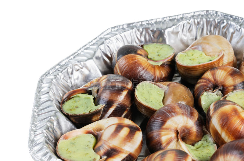 Download Bourgogne Snails With Garlic Butter Stock Photo - Image: 21441434