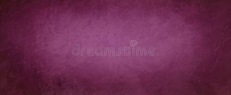 Bourgognebakgrund i rika röda och purpurfärgade vintoner och gammal bekymrad gräns för textur för tappning elegant mörk karaktärs vektor illustrationer