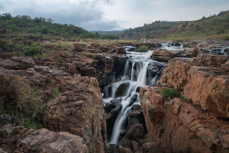 Bourke ` s运气坑洼,布莱德河峡谷自然保护, Moremela,普马兰加省,南非,非洲 免版税库存照片