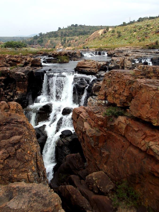 Bourke ` s运气坑洼布莱德河南非 免版税图库摄影