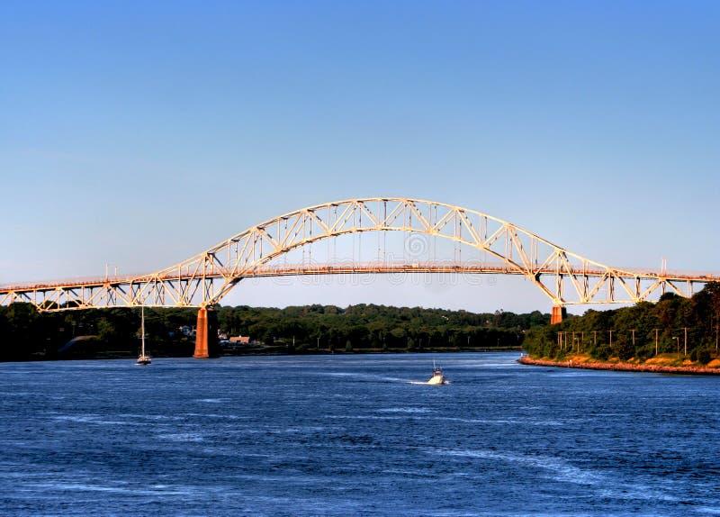 Bourne Bridge Stock Photo