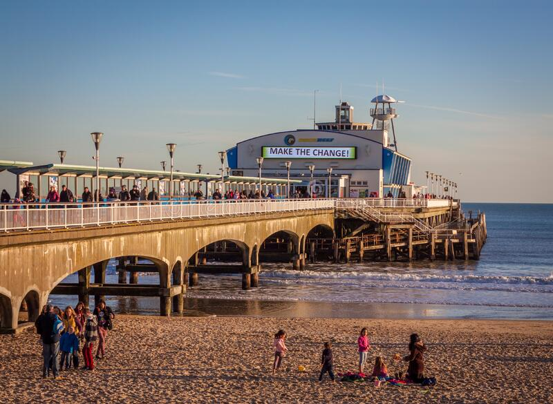 Bournemouth Pier 2015 Free Public Domain Cc0 Image