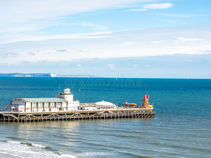 Download Bournemouth pier stock photo. Image of beach, colorful - 28275464