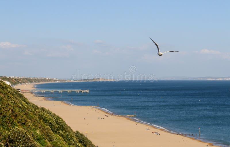 Bournemouth plaża obrazy stock