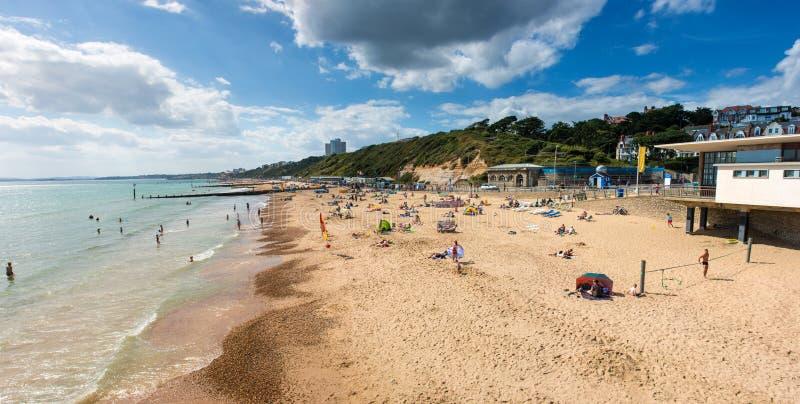 Bournemouth plaża fotografia royalty free