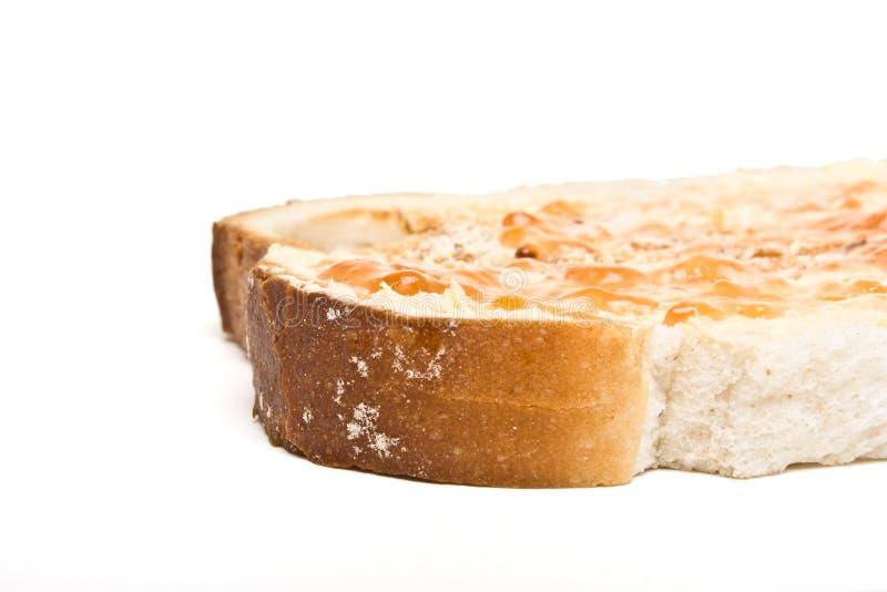 Bourrage du pain n photo libre de droits