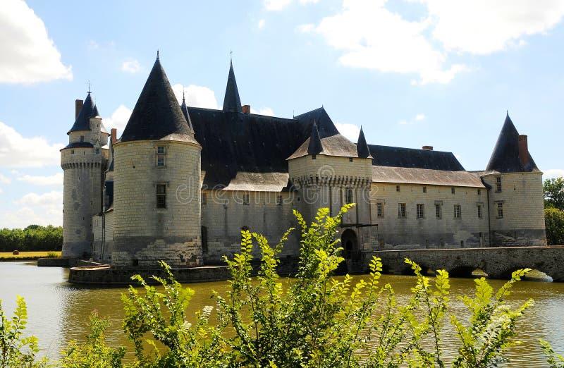 bourre chateau le plessis royaltyfria foton