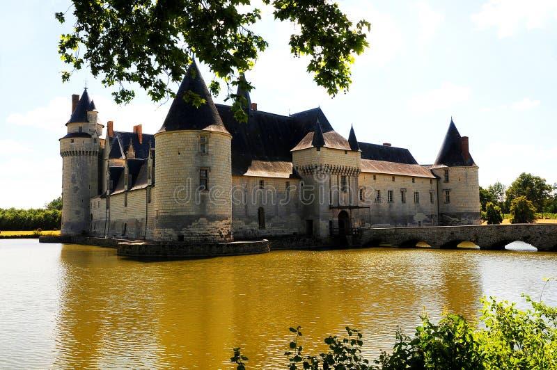 bourre chateau le plessis royaltyfria bilder