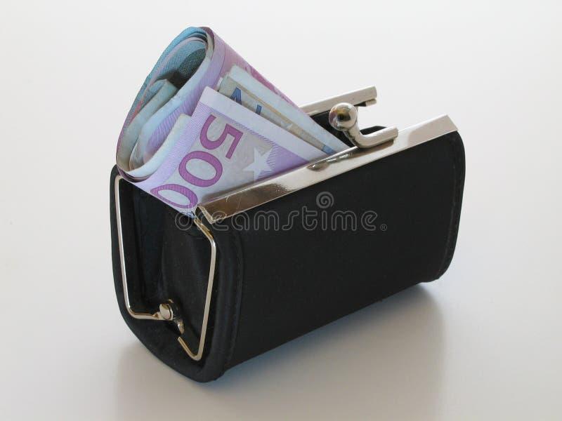 Bourse d'argent images stock