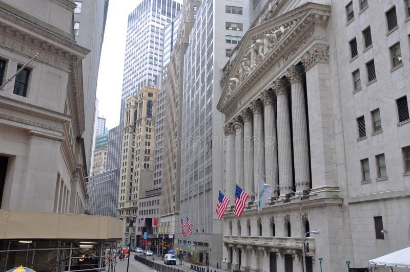 Bourse de New York photo stock