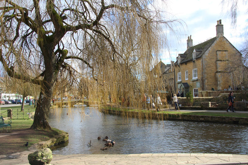 Bourton-on-the-Water royalty free stock images