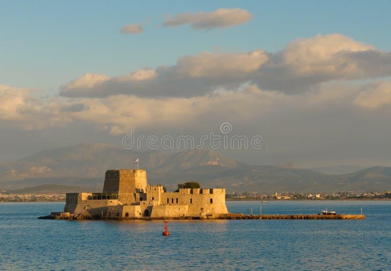 Download Bourtzi Castle, Nafplion, Greece Stock Image - Image of greece, citadel: 14852435