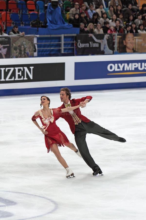 Bourzat et Nathalie Fabian Pechalat image stock