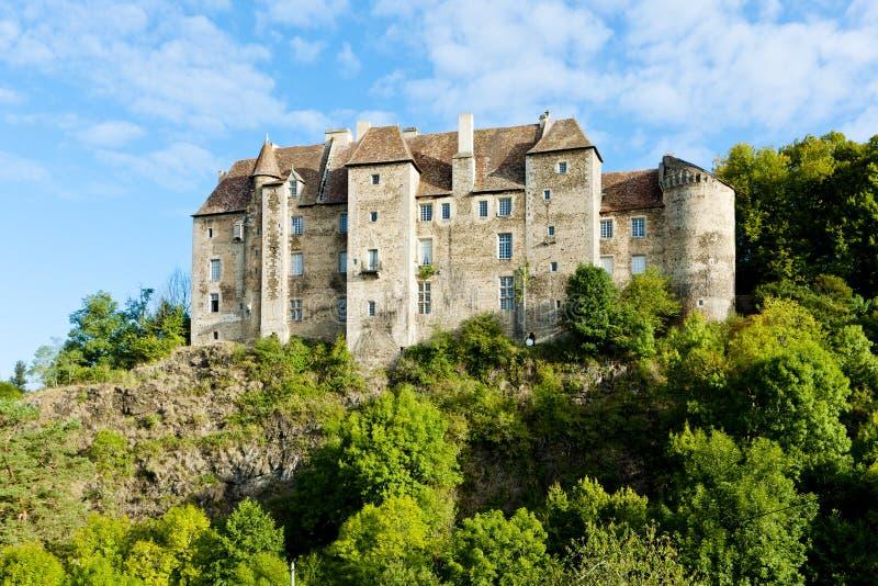 boussac城堡 免版税图库摄影