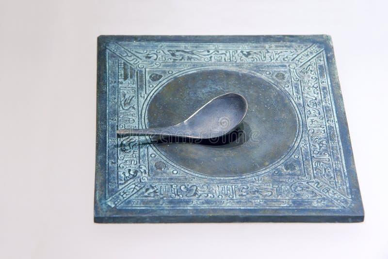 Boussole en bronze images libres de droits