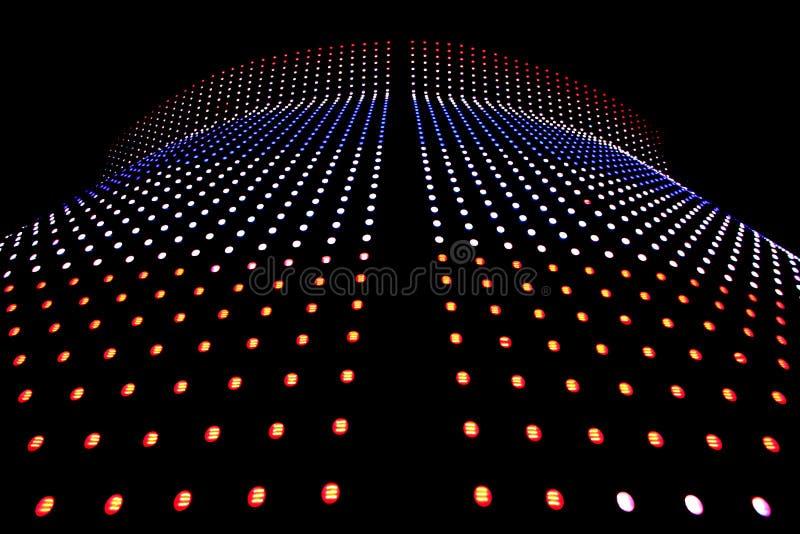 Bout droit des lumières de LED illustration de vecteur