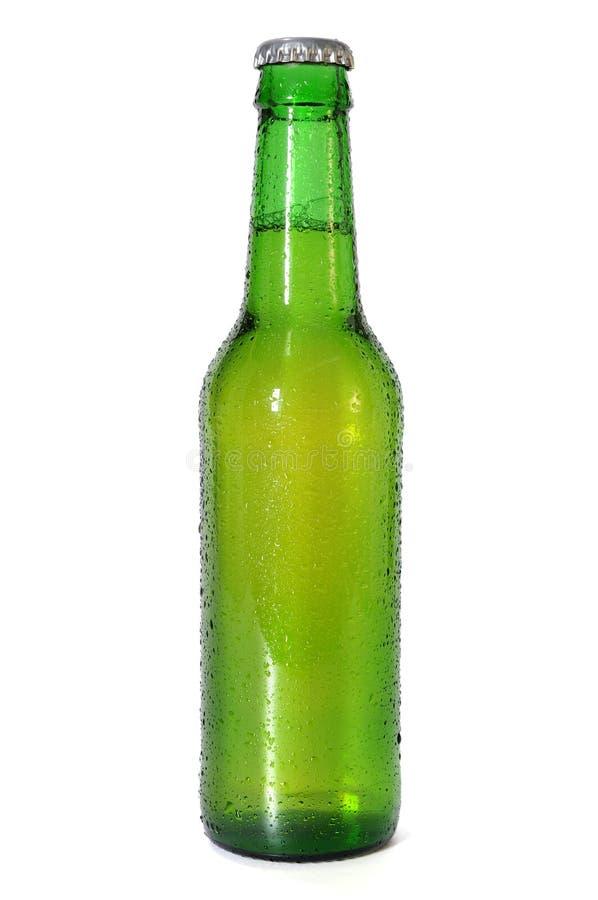 Bouteille à bière verte photos stock