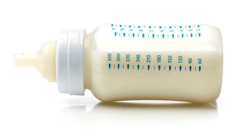 Bouteille à lait de chéri images stock