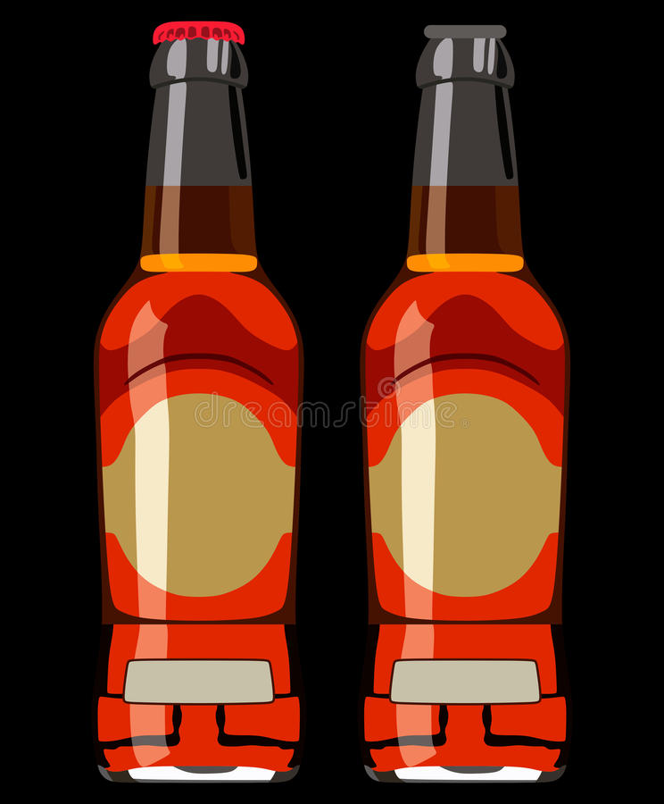 Bouteille beer3 illustration stock