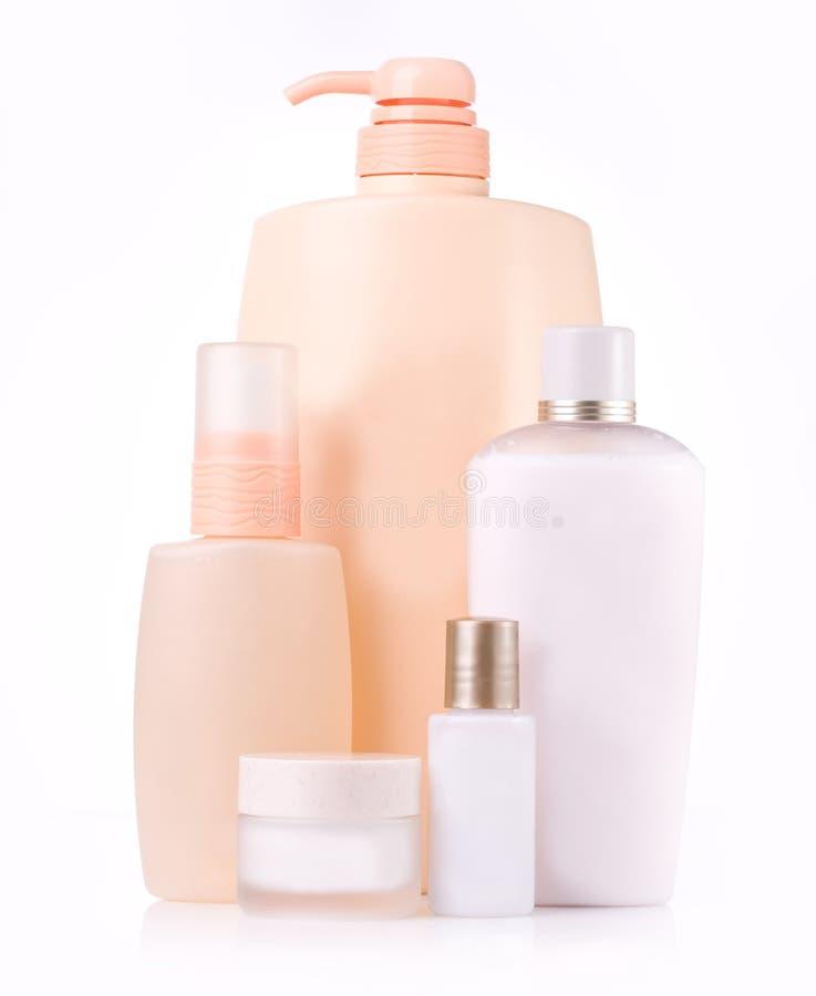 Bouteille cosmétique photographie stock libre de droits