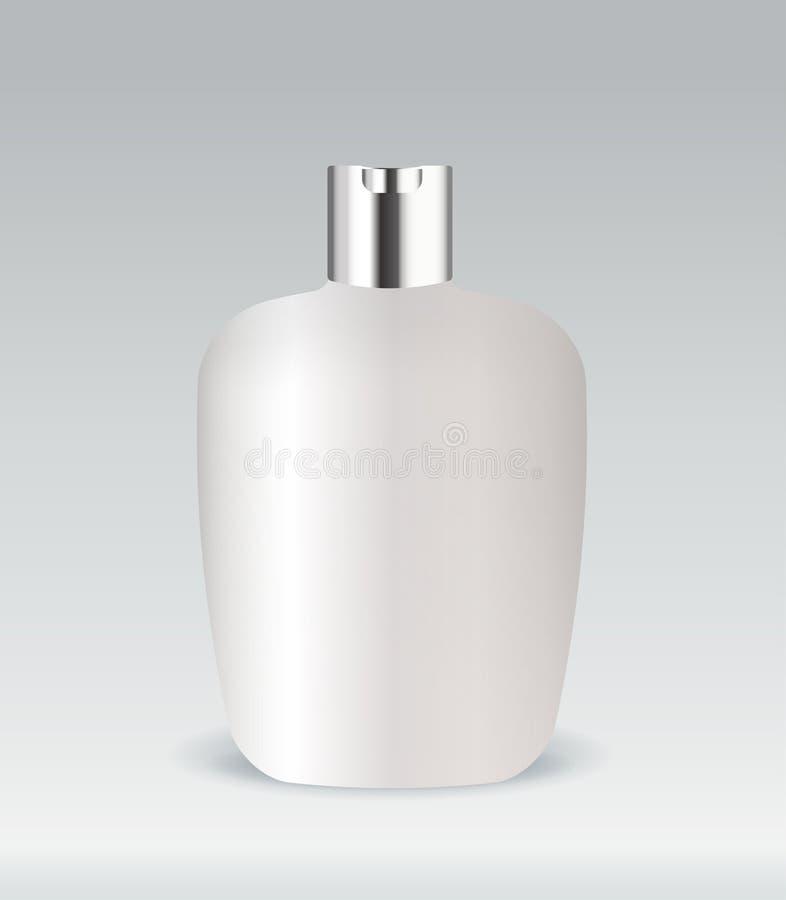 Bouteille cosmétique de conteneur illustration de vecteur