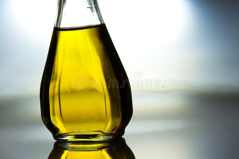 Bouteille d'huile végétale photos libres de droits