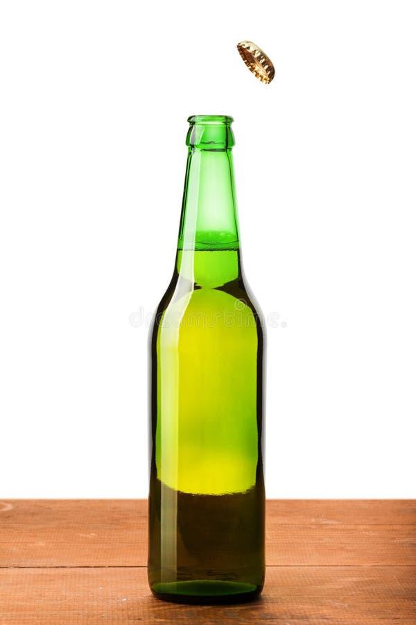 Bouteille de bière photo stock