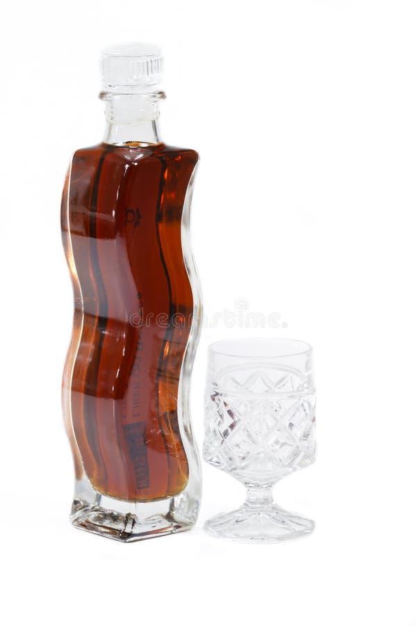 Bouteille de boisson alcoolisée photos stock