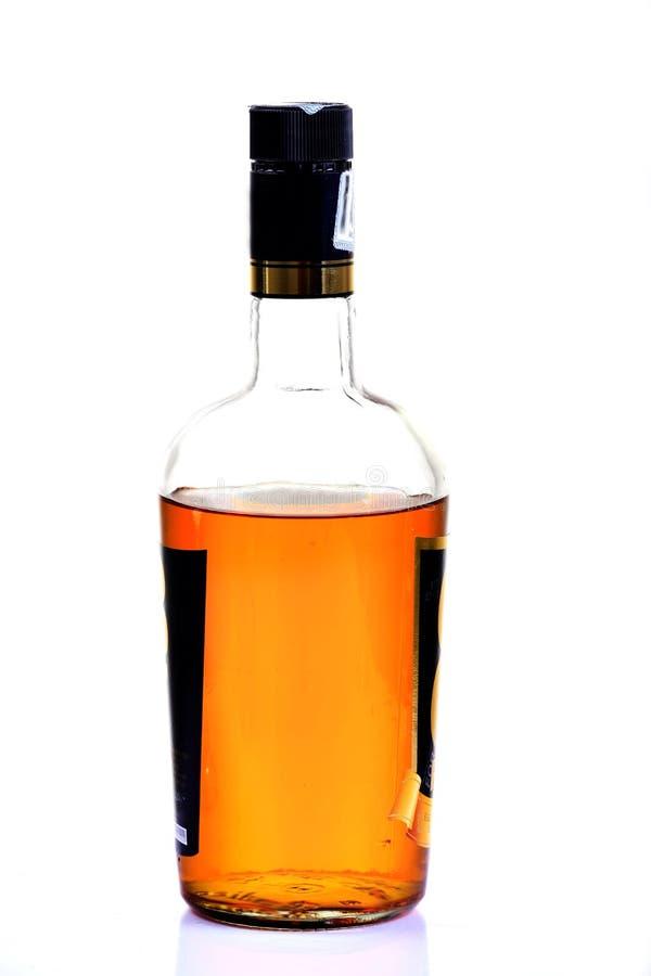 Bouteille de boisson alcoolisée photographie stock libre de droits